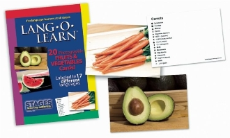 Lang-O-Learn Fruits & Vegetables